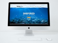 Beuchat Dive Shop Website Design