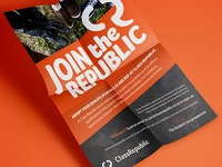 Class Republic AYQ Campaign A5 Flyer
