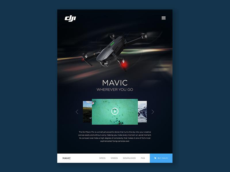 Daily UI #3 - iPad Landing Page ux user interface user experience ui design ui ios graphic design design dailyui application app design interface