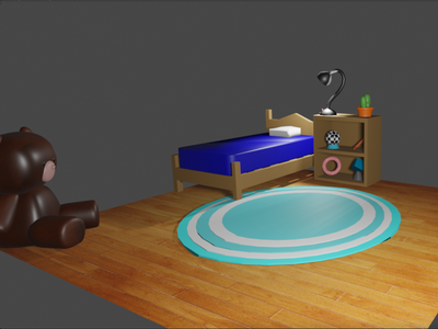 room-habitacion 3d illumination 3dblender 3d art