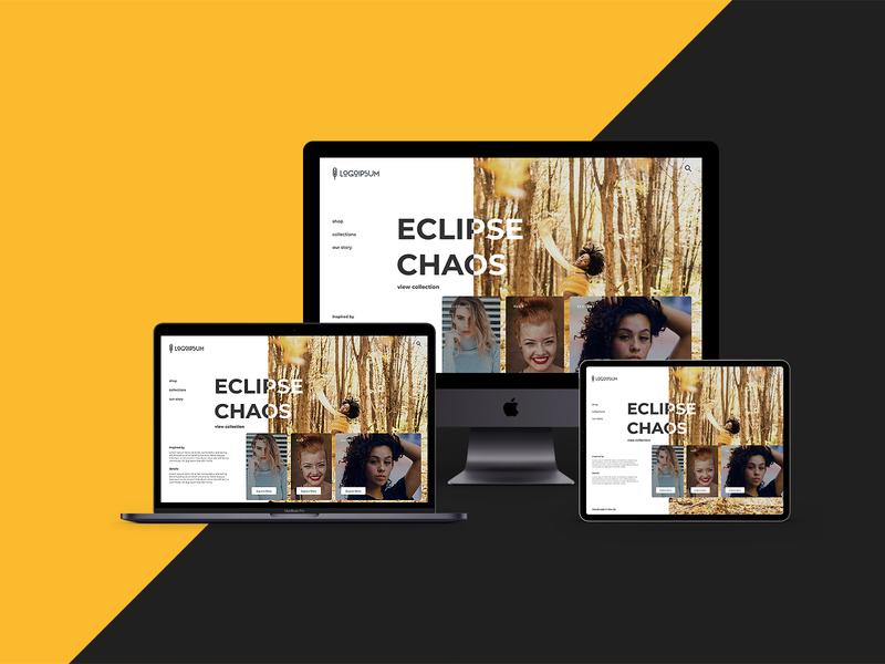 Daily Design #4 jewellery web design