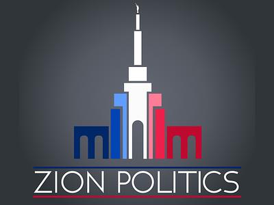 Zion Politics Logo graphic design logo