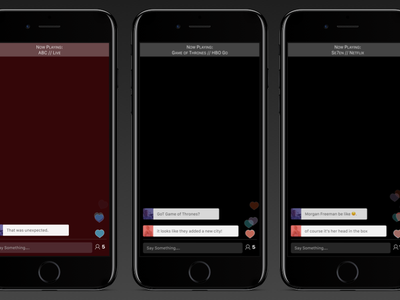 HeyTV Companion iPhone App mobile app ui ux