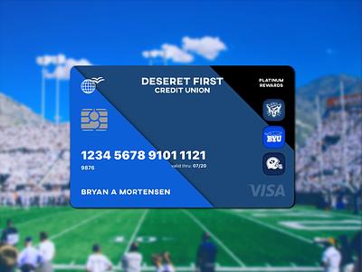 DFCU Card Redesign