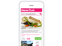 itison responsive deal email
