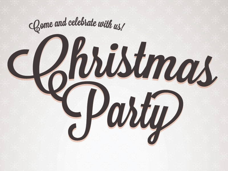 christmas invite by jamie wilson dribbble