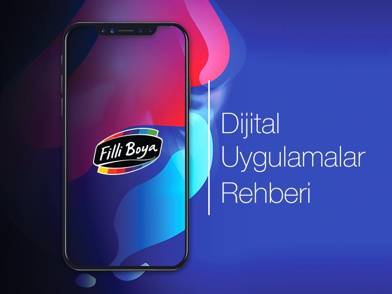 Filli Boya Digital Applications Brochure Cover by menderes
