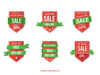 Flat Sale Badges