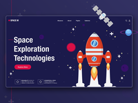 Space M Landing Page