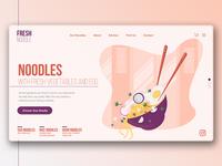 Fresh Noodle Website