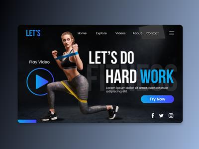 Sport Landign Page