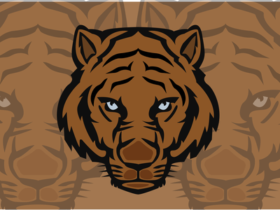 Tiger Mascot Logo vector beauty animal logo 2021 logo best logo new design logo illustrator tiger tiger mascot tiger logo