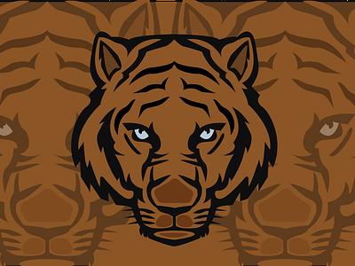 Tiger Mascot Logo vector beauty animal logo 2021 logo best logo new design logo illustrator tiger tiger mascot tiger logo