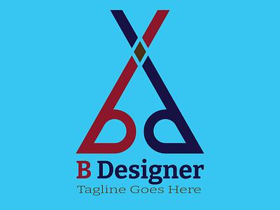 BD Letetr Logo branding design abstract design beauty art vector best logo illustrator new logo 2021 bestlogo newlogo logo letterlogo bd logo