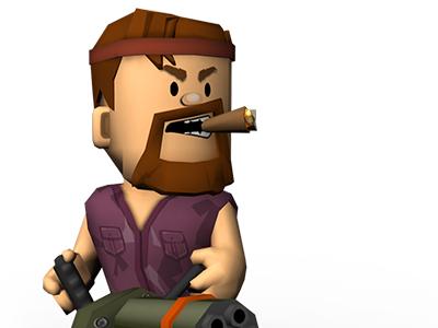 Commando Character