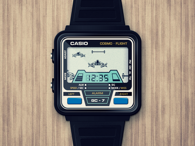 "Casio ""Cosmo Flight"" watch"