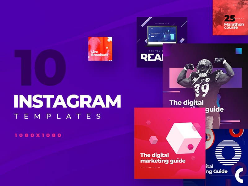 Instagram banners web post creative banner instagram banner template instagram