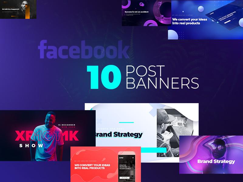 Facebook Banners #3 brand management marketing puck set banner post banner post facebook