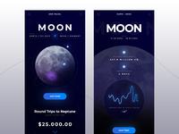 Full size travel moon