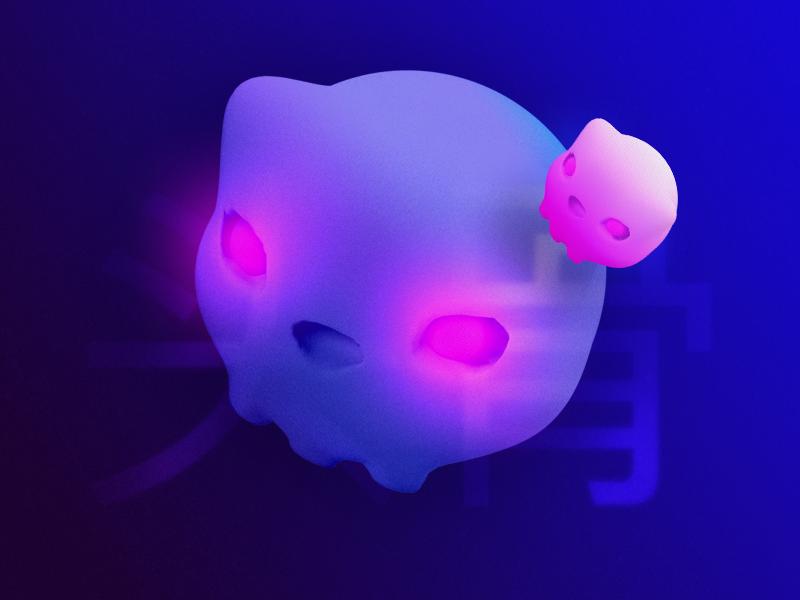 skull dark fun concept light ps zbrush 3d skull