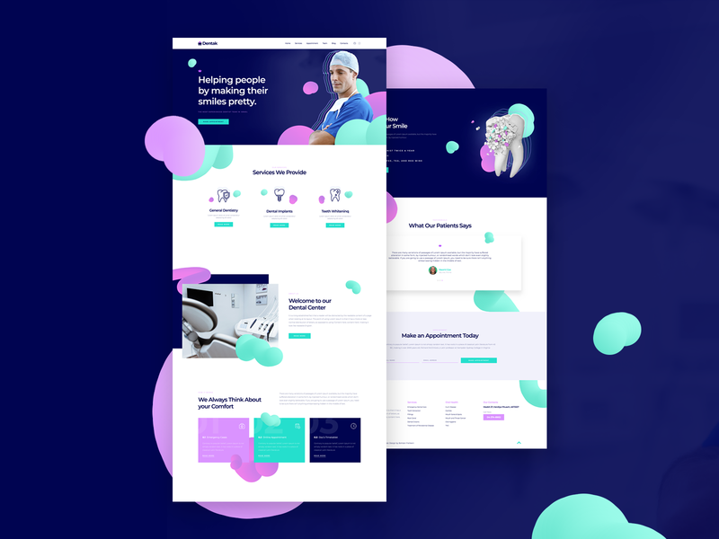 Dental Clinic - Full version ux ui ps pagebuilder wordpress elementor dental