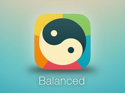 Balanced app icon rebound app icon colors ios iphone
