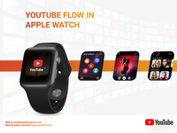 YouTube Redesign - Apple Watch Design