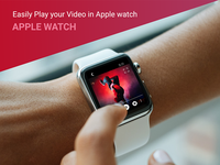 YouTube Redesign - Apple Watch in Hand