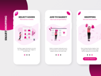 Smart Shopping Onboarding Screen