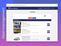 Project : Fleet Management System