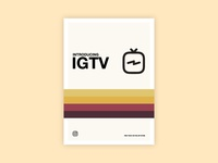 Instagram TV Retro Poster Idea