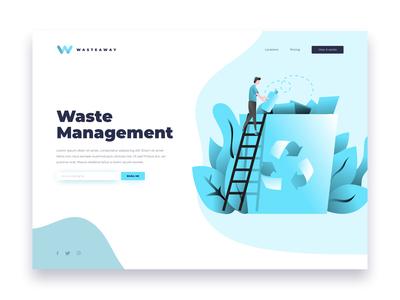Waste Management Landing Page