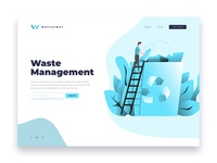 Waste Management Landing Page