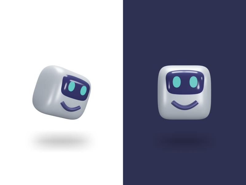Mascot - 3D ux ui interface design illustration bot robot c4d 3d illustration 3d logo mascot