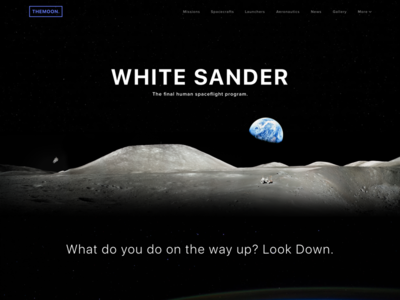 Space Travel | Landing Page