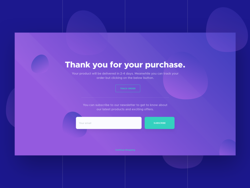 Subscribe To Newsletter shopping email checkout ui interface design clean purchase subscribe newsletter ecommence website