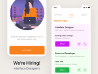 We're Hiring - Job listings app