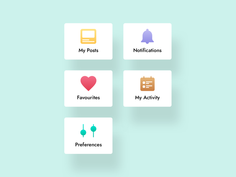 Icons design vector interface design illustration icons ux ui app