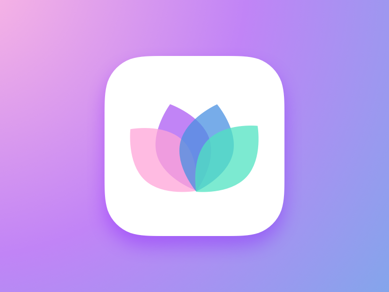Photo Filters App dailyui ios9 filters photo ios clean sketch3 minimal app icon