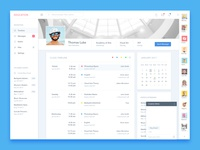 Student Profile UI Design