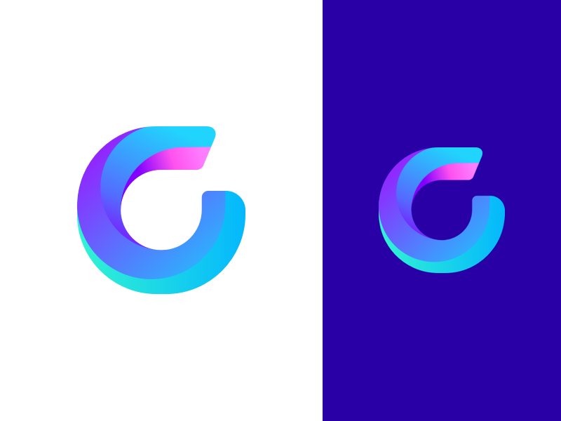 G logo concept by zivile zickute