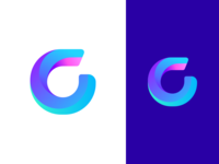 G Logo Concept logo gradients letter typography dailyui branding illustration app identity a c icon
