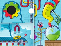 Kids Church Illustration