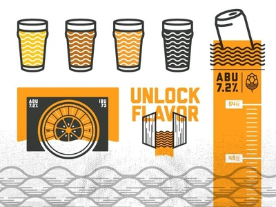 Brewery Icons illustration icons beer brewery