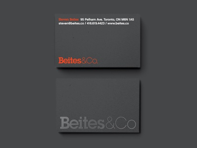 Beites&Co. Business Cards