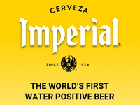 Imperial - The World's First Water Positive Beer