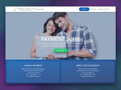 Paysuite Mockup web design web mockup ui