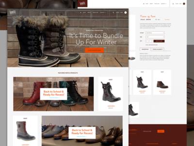 Kunitz Shoes Ecommerce Shop