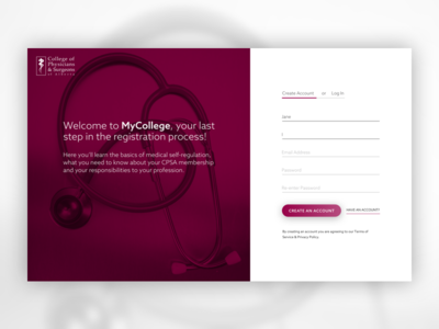 Sign-up Screen