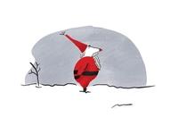 Santa having fun ipad santa christmas